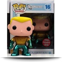 Pop Metallic Dc Universe Aquaman Vinyl