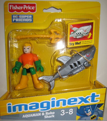 Fisher Price Dc Super Friends Aquaman