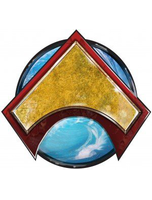 Flashpoint Emperor Aquaman Pin